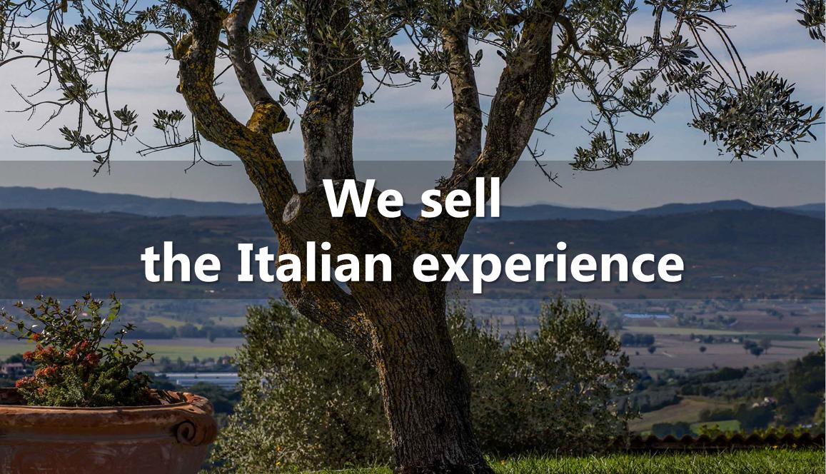 Sell The Italian Experience: Caseinitalia.net